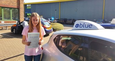 Abbey Docherty Ascot Driving Lessons