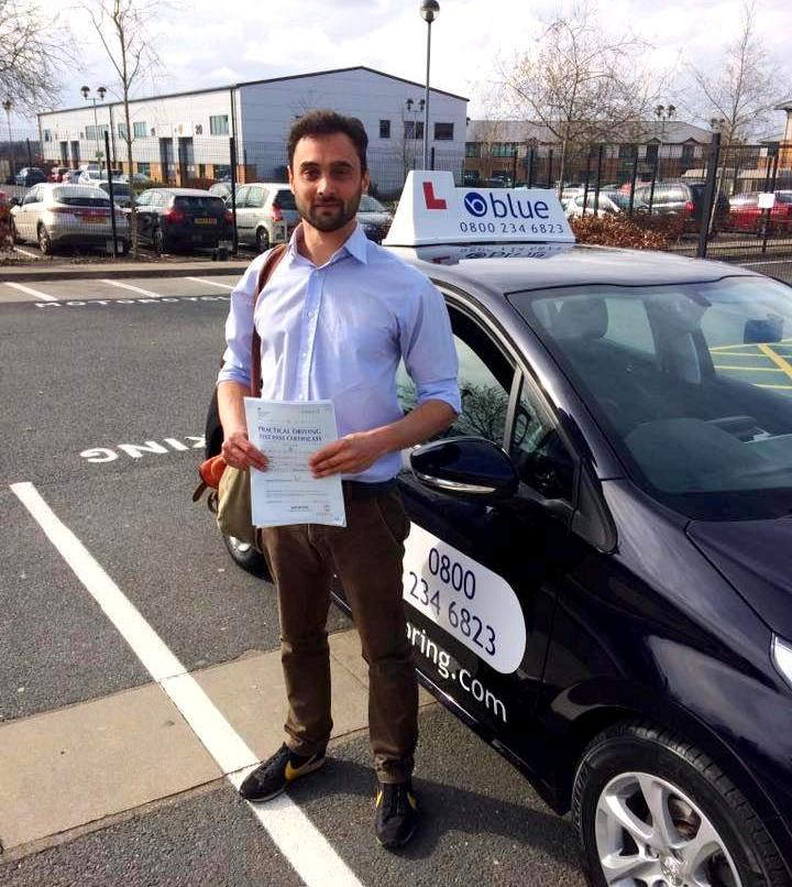Alan O'Connell Driving Lessons in Crowthorne