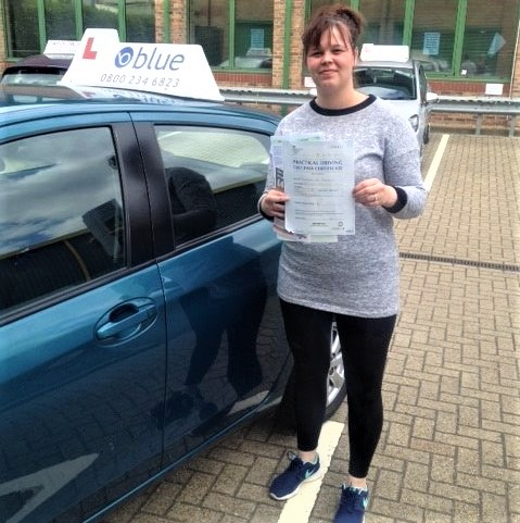 Bracknell Driving Lessons for Alex Plenderleith