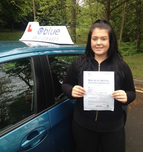 Bracknell Driving Test pass for Amiiee Park