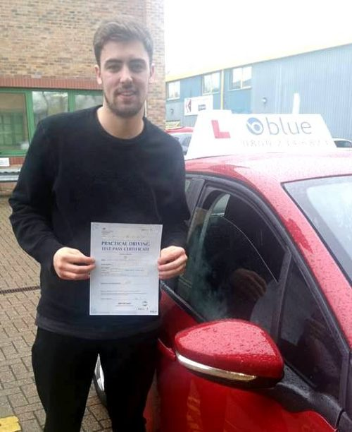 Driving Lessons for Connor From Bracknell