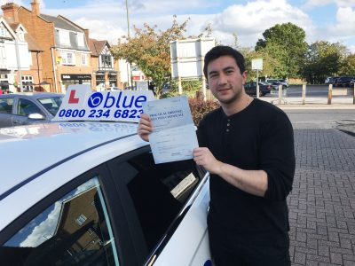 driving lessons ascot Damian Molden