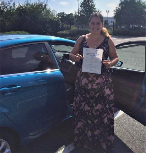 Farnborough Driving Test Pass for Oxana Sochka