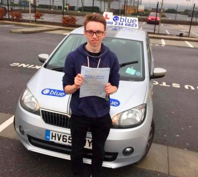 Farnborough Driving Test Pass for Will Stephenson