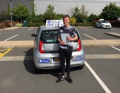 Farnborough Driving Test for James Blundell