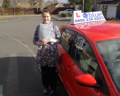 Farnborough-Driving-Test-pass-for-Lorna-Taylor