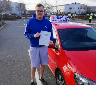 Farnborough Driving Test pass for Scott Osler