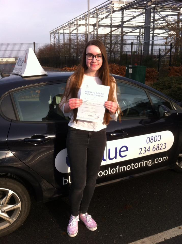 Driving Test Farnborough Florence Forster