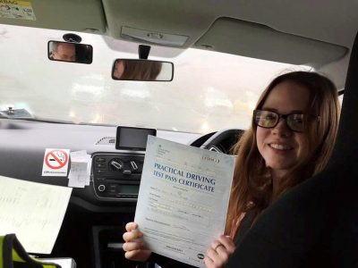 Farnborough Driving Test for Holly Taylor