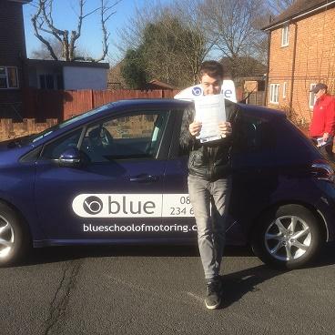 Jamie-aldershot-driving-test