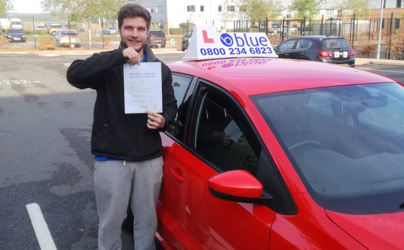 Congratulations to John Stevens passed his driving test FIRST TIME today at Farnborough