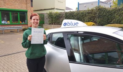 Katie Smith Passes Test in Chertsey