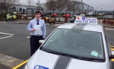 Farnborough Driving Test for Sam Graham