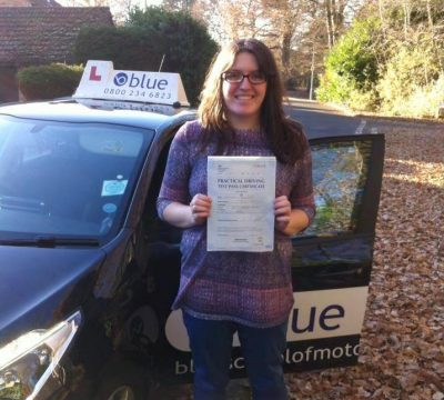 Crowthorne driving lessons Samantha Willis