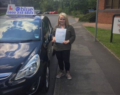 Slough Driving Test Pass for Marita