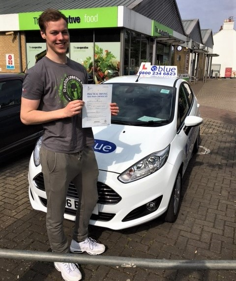 Windsor Driving Lessons for Toby Baxter