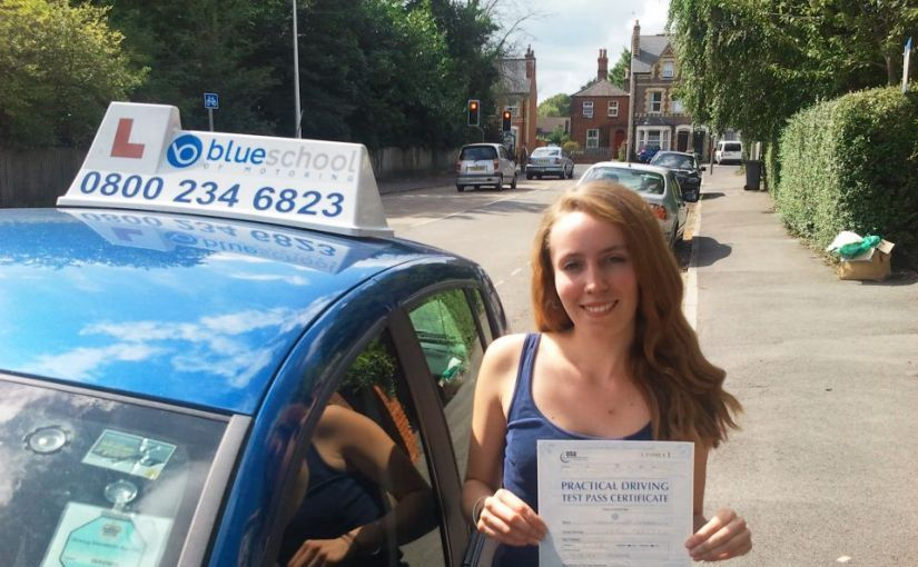 Congratulations to Fran Pitcher on passing your test in Reading