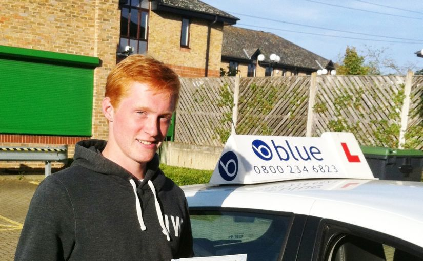 Well done to Jack Forrest who passed his driving test FIRST TIME