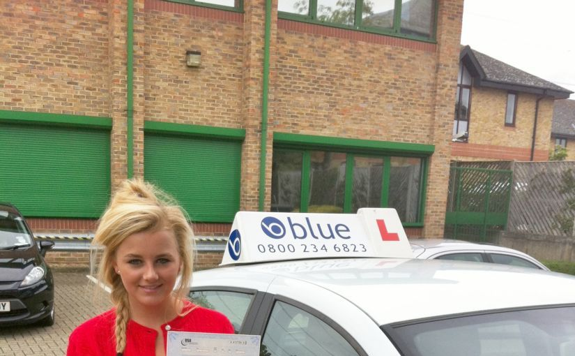 Congrats goes to Victoria Cook of Winkfield who passed her driving test today FIRST TIME