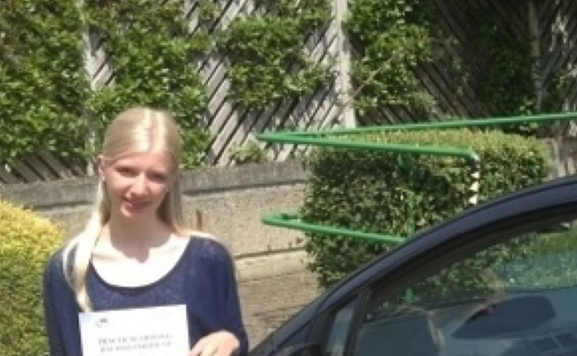 Rosemaryof Ascot in Berkshire passed her driving test FIRST TIME i