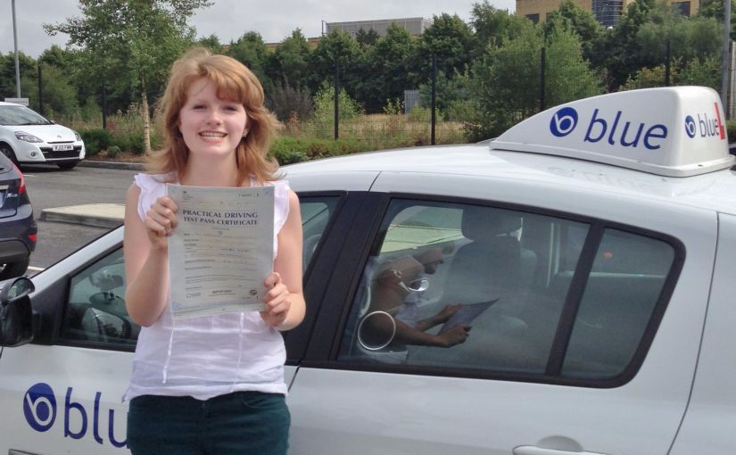 Jennifer of Camberley passed her driving test in Farnborough
