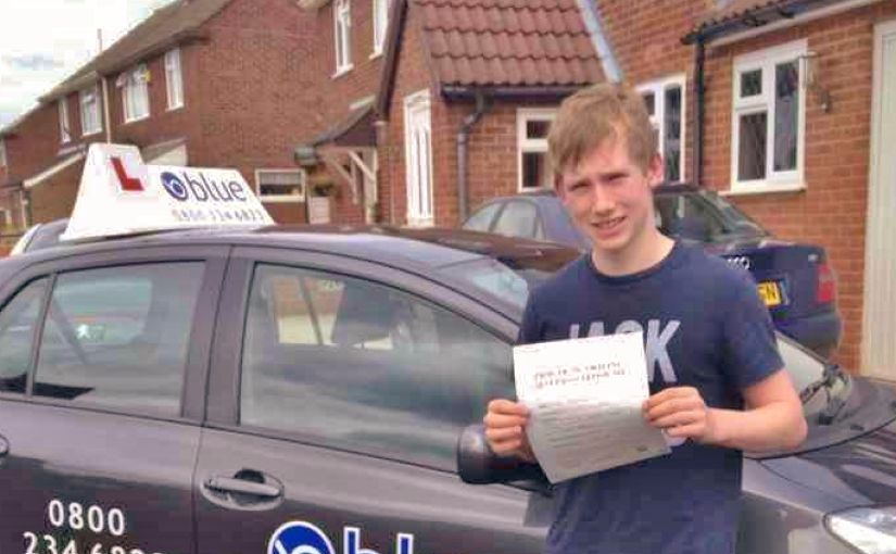 Congratulations to Samuel passed his driving test in Reading 1st attempt