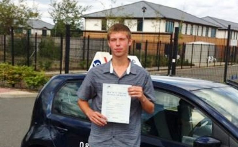 Well done to Matt First time driving test pass in Farnborough,