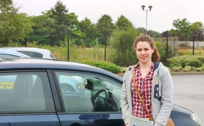 Brilliant result for Anne-Marie of Ash, Hampshire passed her driving test in Farnborough First Time