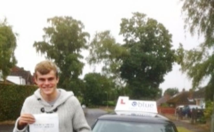Congratulations to Reece from Ascot, Berkshire passed his driving test in Chertsey only 4 minor faults