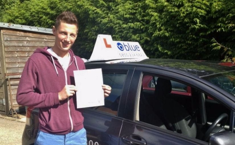 Brilliant result for Cameron of Arborfield, Berkshire passed driving test in Reading, Berkshire