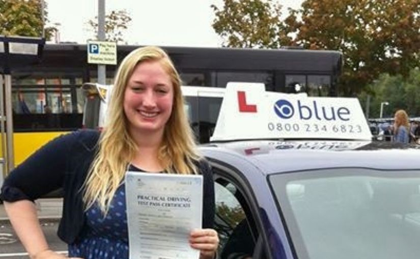 Congratulations to Catherine from Reading who passed her test today at Farnborough
