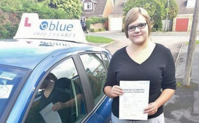 Congratulations to Georgie Hanks of Wokingham on passing your test at Reading yesterday, first time