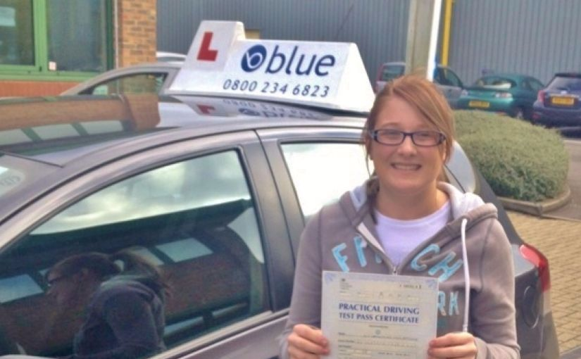 Well done to Charlotte of Bracknell, who passed her driving test on her FIRST ATTEMPT
