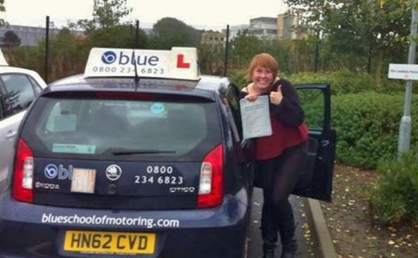 Well done to Harrie who passed driving test in Farnborough with just a few minors.