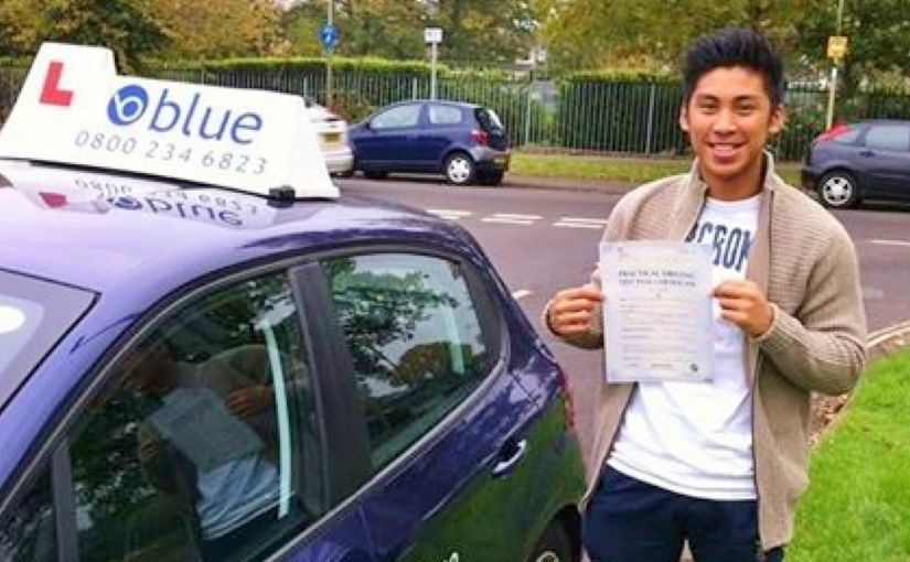 congratulations to Ricky Dagdag of Bracknell who passed his test today at Farnborough