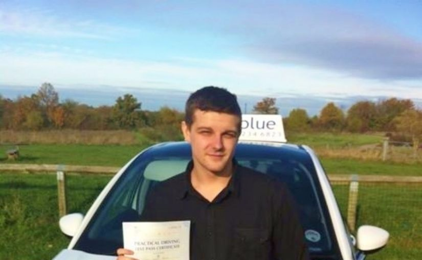 Congratulations to Stuart Bruce from Bracknell for passing his driving test today in reading