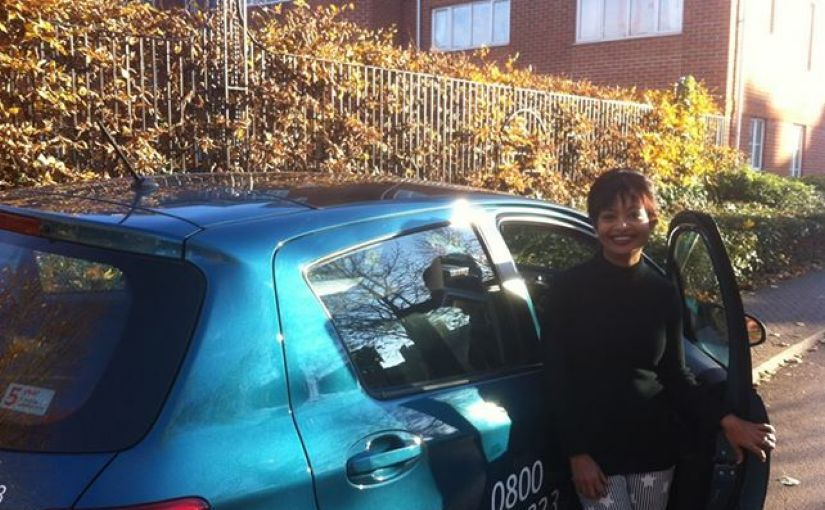 Super result for Leena Jha, who passed her practical test in Reading