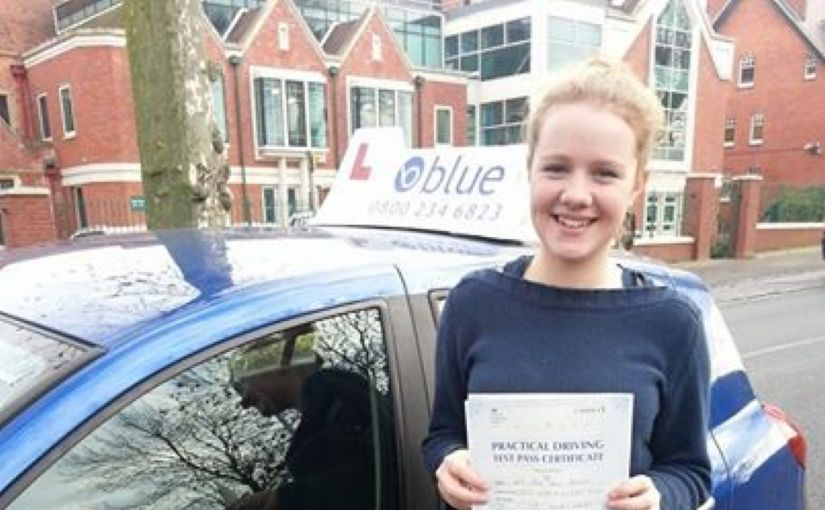 Many congratulations to Emma from Winnersh for a first time pass this morning at Reading.