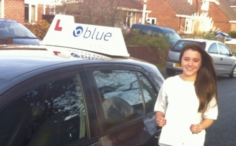 Well done to Ruby Frost of North Ascot, Berkshire who Passed her driving test in Chertsey 1st attempt