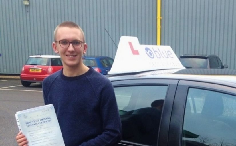 Well done to Daniel Edgar of Warfield, Bracknell, Berkshire who Passed his driving test