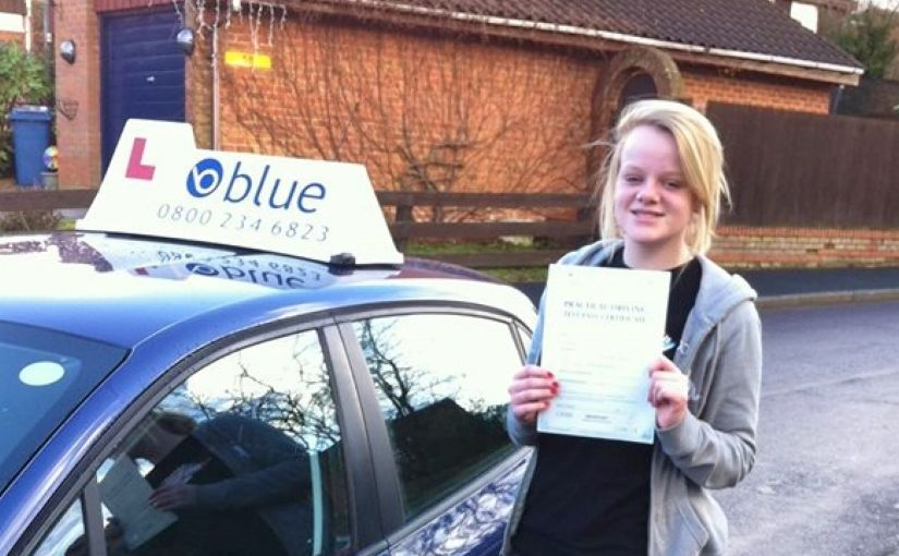 Huge Congratulations to Emma Cooley from Birch Hill on passing her driving test today at Farnborough
