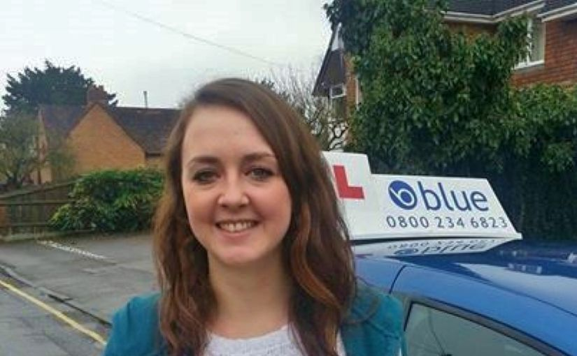 A great result this morning for Joanne of Wokingham who passed her driving test in Reading