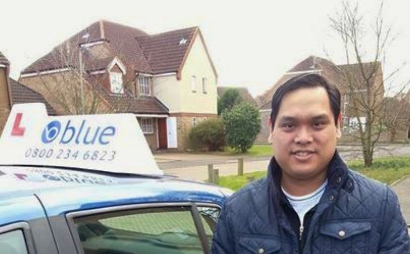 Congratulations to Eric from Wokingham who passed his driving test first time at Reading