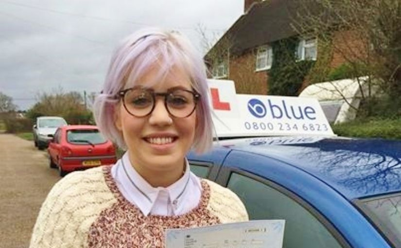 A great result for Fiona Downs of Hurst who passed her test at Reading
