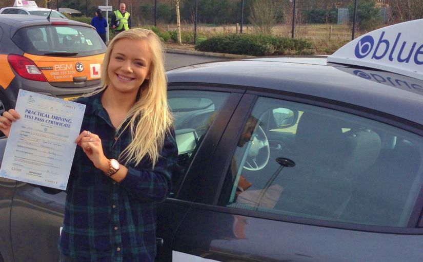 Brilliant result for Claudia of Lightwater, Surrey who passed her driving test Farnborough