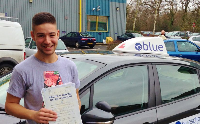Brilliant outcome for Kyle of Ascot, Berkshire who passed his driving test today First Time with ZERO faults