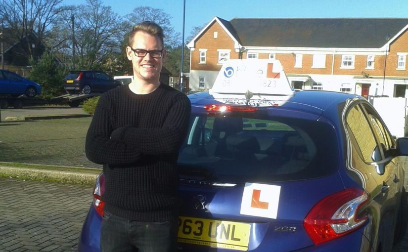 Congratulations to Craig Ross of Deepcut, Surrey, who passed his driving test