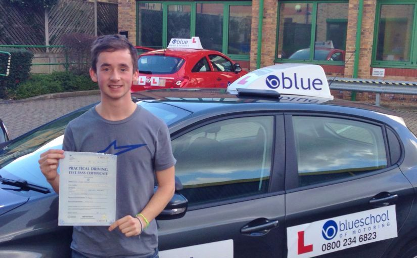 Great result for Alistair of Ascot, who passed his driving test First Time with an amazing ZERO faults