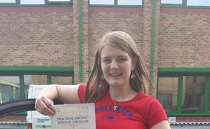 Congratulations Hayley from Bracknell on passing your driving test today first time