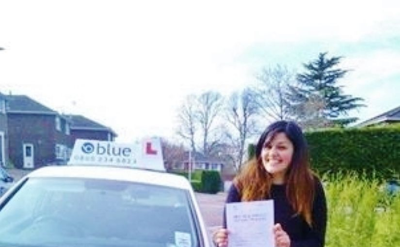 Congratulations Jessica of Bracknell passed yesterday at Chertsey with only 4 minors on your first test.